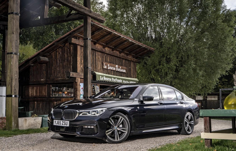 Photo wallpaper BMW, BMW, sedan, 7-Series, G12