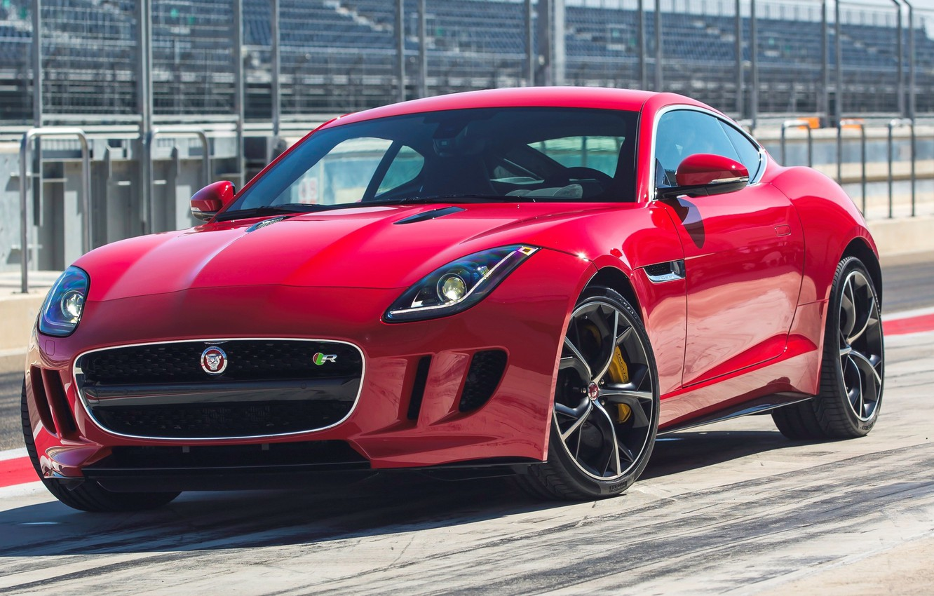 Photo wallpaper jaguar, coupe, f-type, r