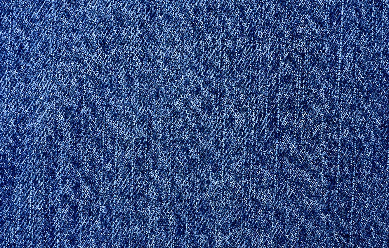 Photo wallpaper blue, jean, pattern fabric