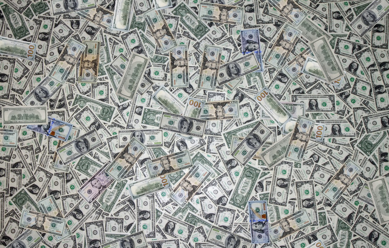 Photo wallpaper background, money, texture