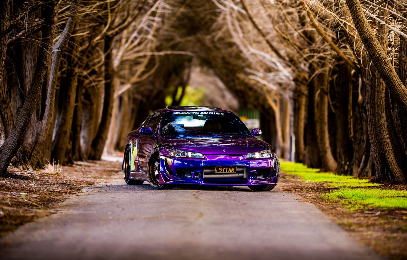 Photo wallpaper color, nissan, silvia, s15, 200sx, vehicle, Midnight purple III