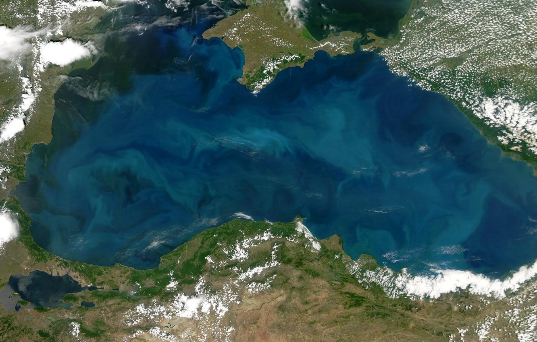 Photo wallpaper photo, NASA, The black sea