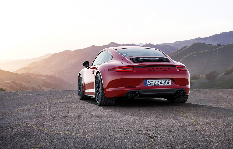 Photo wallpaper 911, Porsche, Carrera, GTS, 2015