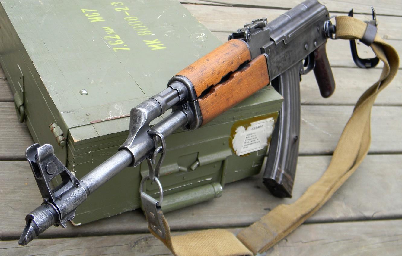 Photo wallpaper weapons, machine, AK-47