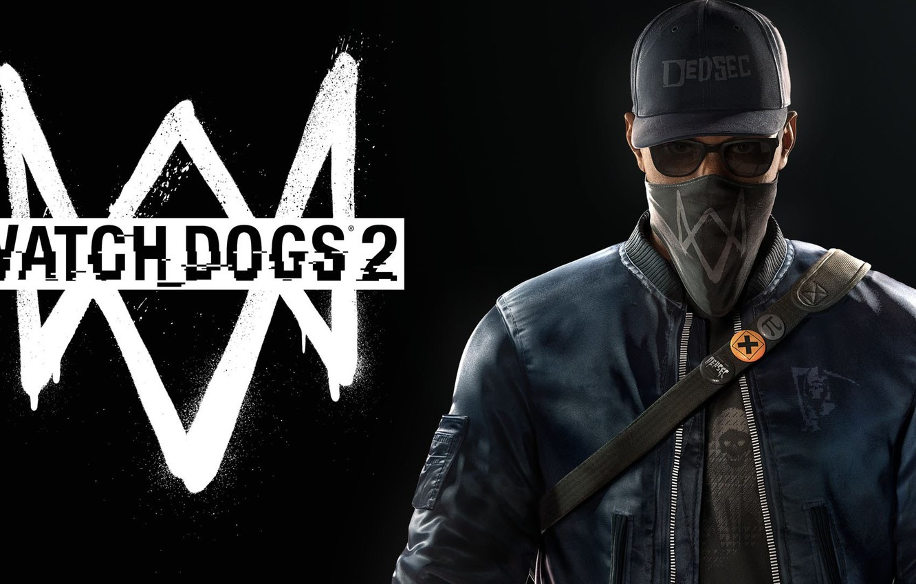 Photo wallpaper Ubisoft, PS4, Xbox One, Watch Dogs 2, Marcus Holloway