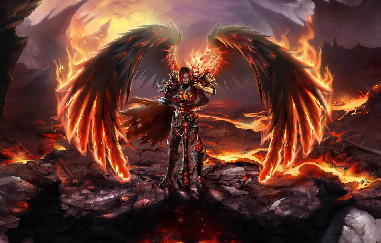 Photo wallpaper flame, heroes of might and magic, might and magic heroes 6, might and magic heroes …