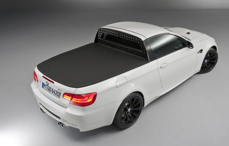 Photo wallpaper BMW, White, Pickup