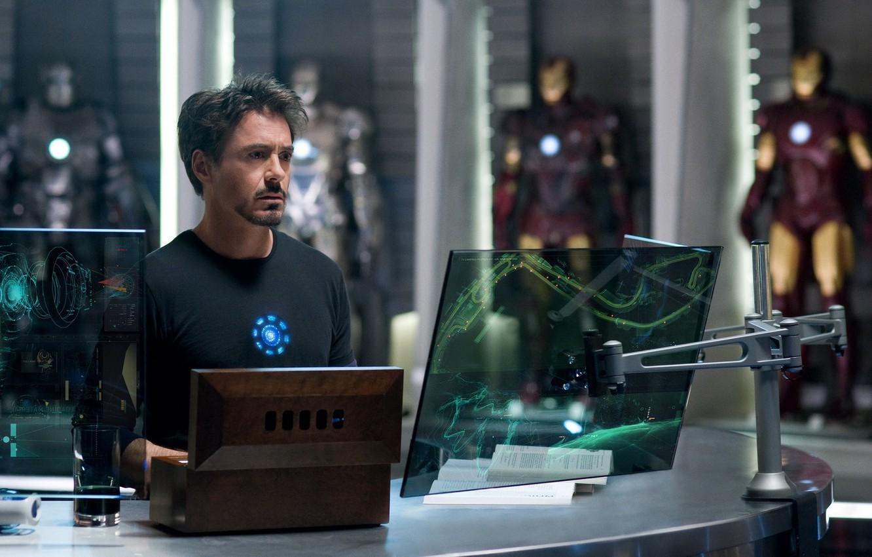 Photo wallpaper Iron man, Robert Downey Jr, Iron Man, Robert Downey Jr., Tony Stark, Tony Stark