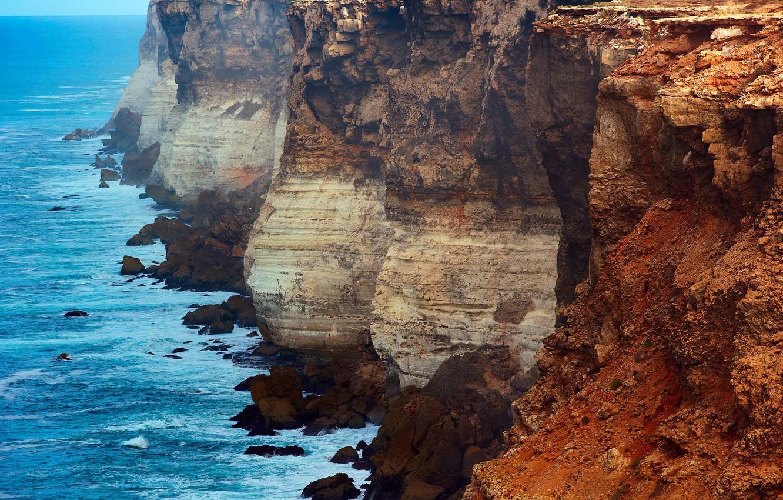 Photo wallpaper Australia, the great Australian Bay, rocks Gang, the state of South Australia
