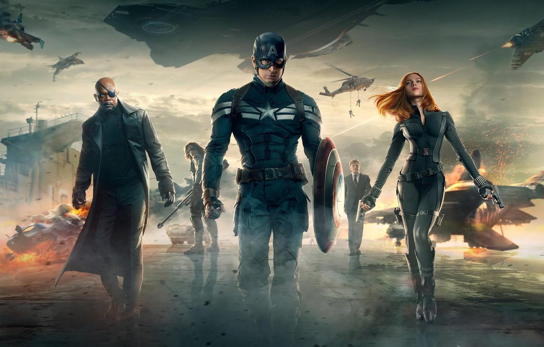 Обои shield, dark, america, captain, artwork. Фильмы foto 14