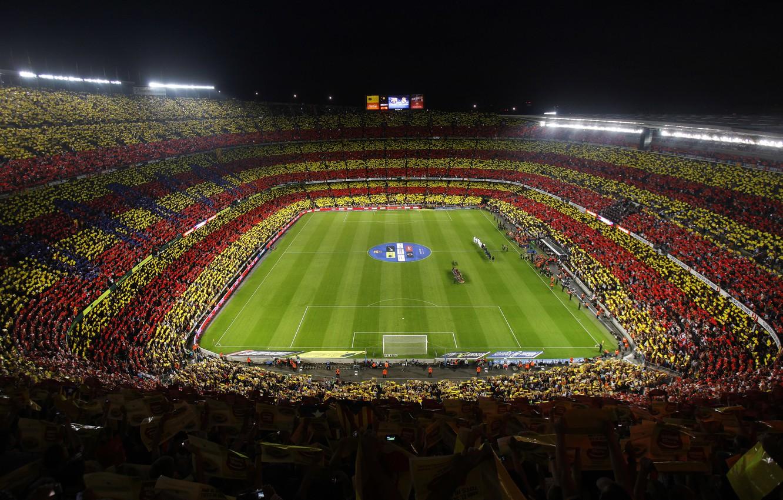 Photo wallpaper Camp Nou, FC Barcelona, The Classic