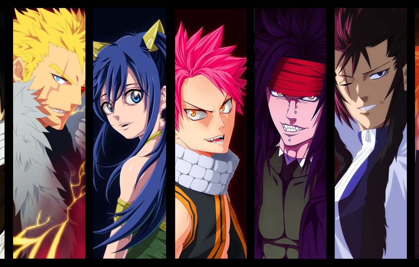 Photo wallpaper girl, game, woman, Snake, anime, Cobra, man, boy, dragon, asian, manga, japanese, Fairy Tail, Natsu …