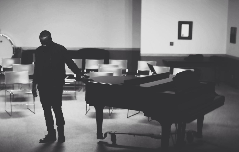 Photo wallpaper music, room, piano, musician