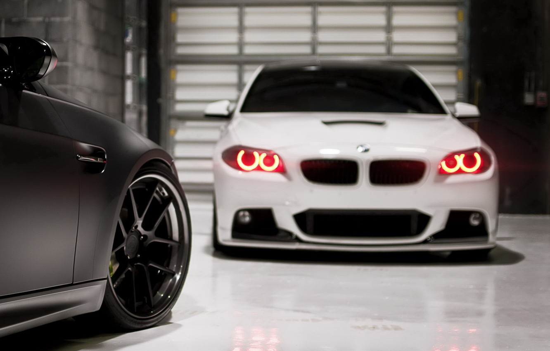 Photo wallpaper tuning, BMW, garage, bmw m3