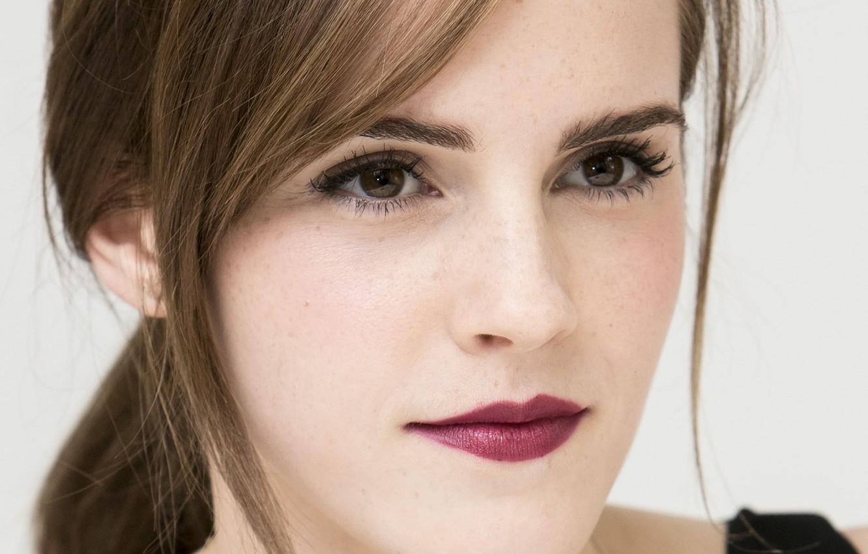 Photo wallpaper portrait, actress, Emma Watson, Emma Watson