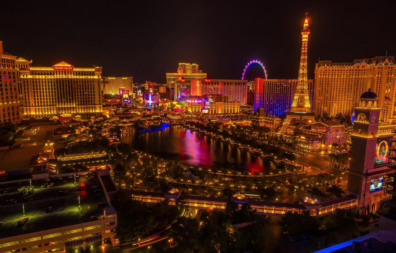Wallpaper Night Lights Las Vegas Usa Usa Megapolis Las Vegas Images For Desktop Section Gorod Download