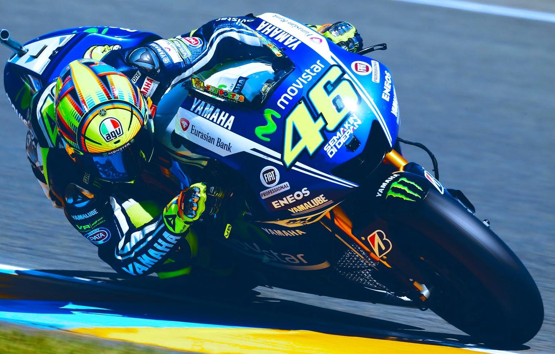 Photo wallpaper motorcycle, MotoGP, Motorsport, valentino rossi, racing