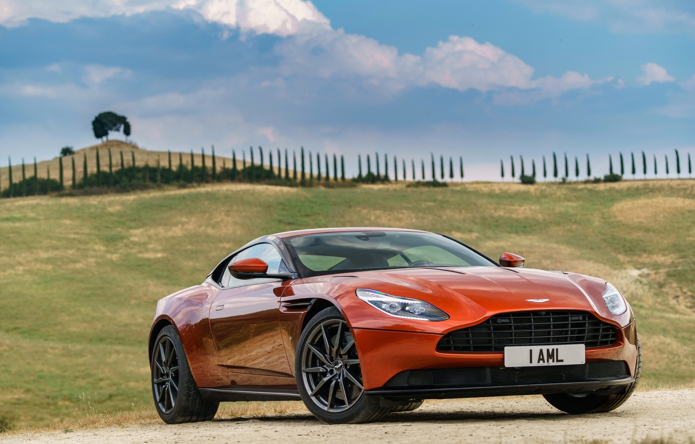 Photo wallpaper machine, auto, the sky, Aston Martin, Aston Martin, the front, DB11
