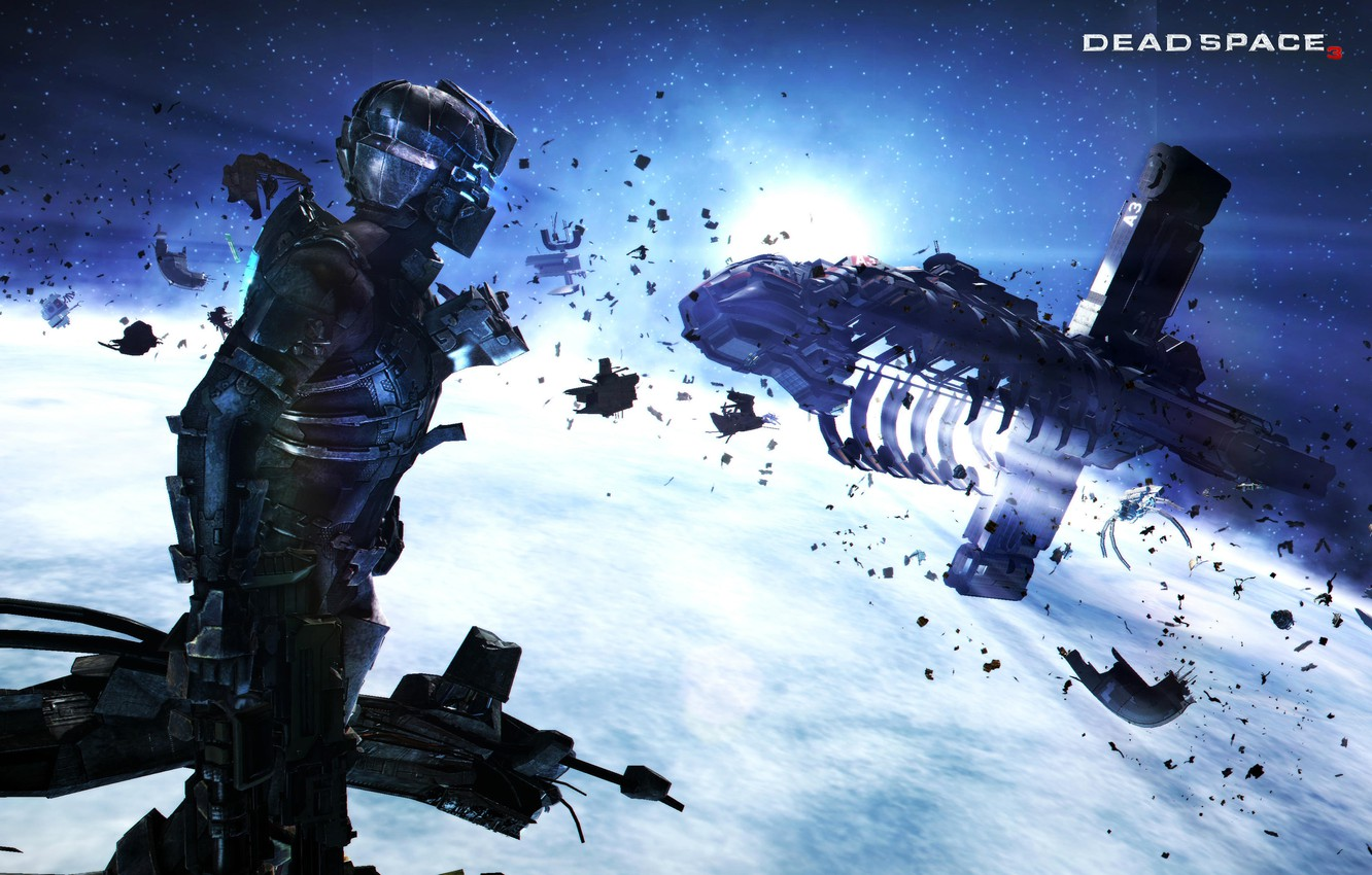 Photo wallpaper Space, Game, 2013, Space Crable, Dead Space 3