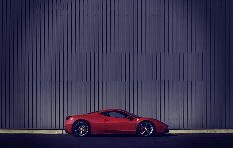 Photo wallpaper Red, Ferrari, Italy, Ferrari, Red, 458, italia, Speciale