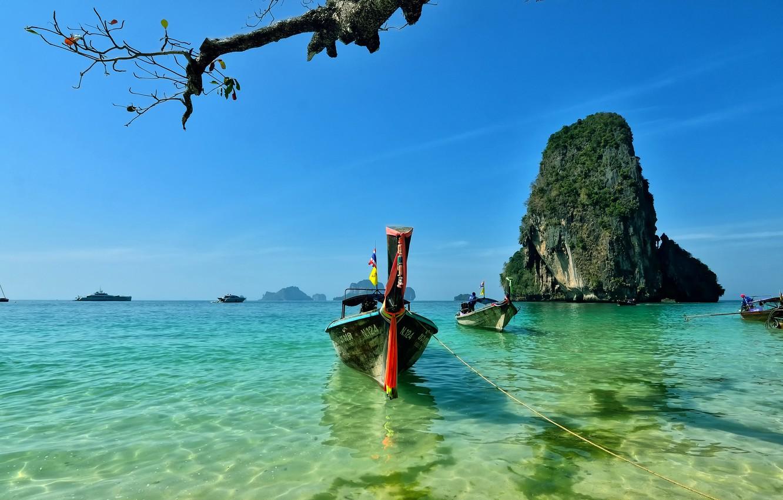 Photo wallpaper Thailand, Island, Railay