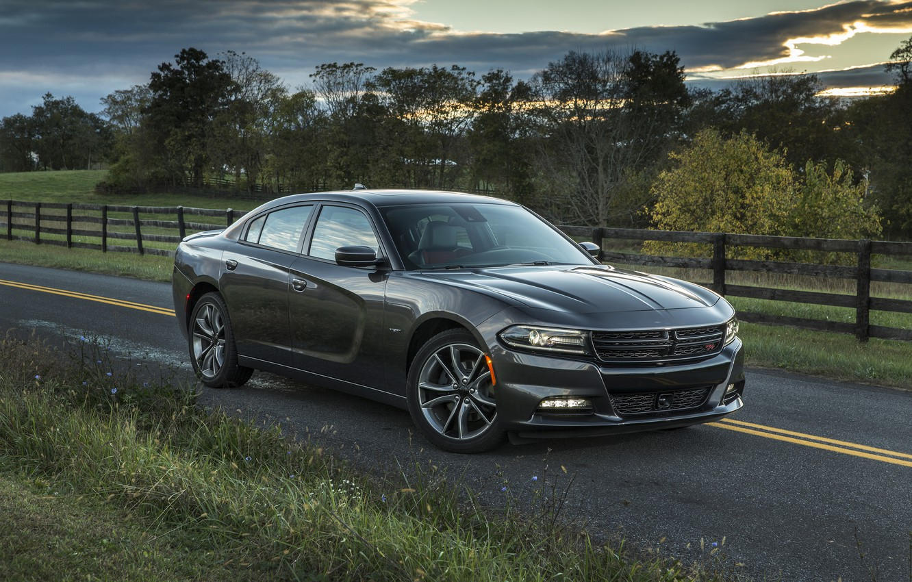 Photo wallpaper Dodge, Charger, R/T, 2015