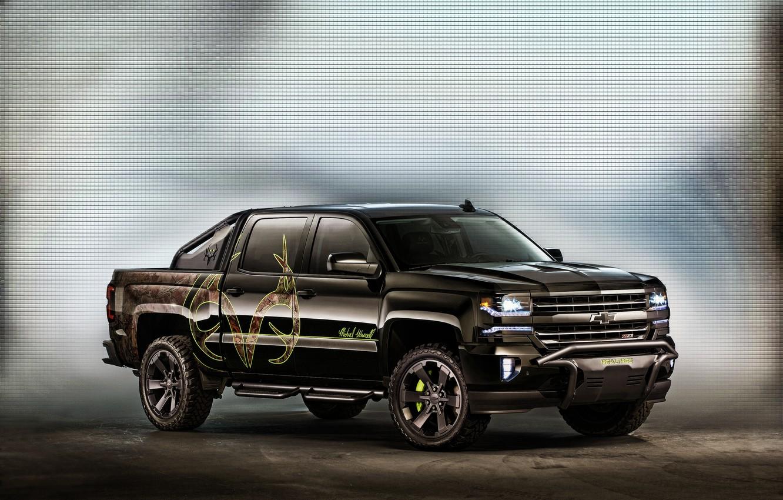 Photo wallpaper Concept, Chevrolet, Chevrolet, pickup, Silverado, silverado