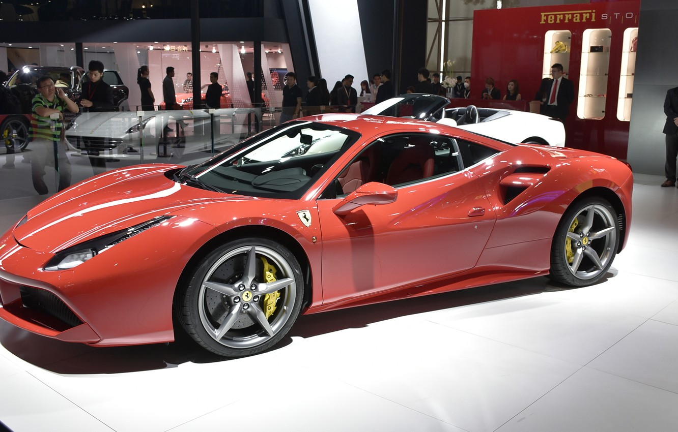 Wallpaper Ferrari The Dealership Ferrari 488 Gtb Images For Desktop Section Ferrari Download
