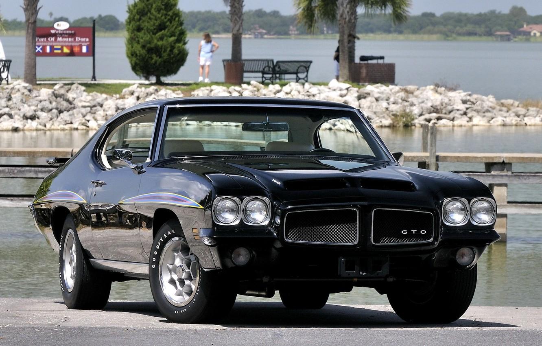 Photo wallpaper Black, 1971, Car, Car, Black, Coupe, Pontiac, Wallpapers, Musclecar, Coupe, Hardtop, TRP, Wallpaper, Muscle, Hardtop, …