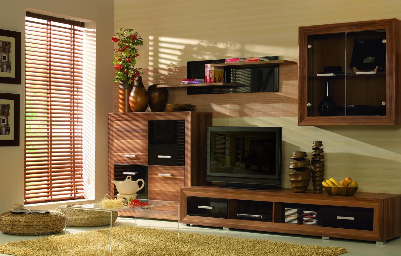 Photo wallpaper design, house, style, Villa, interior, living room