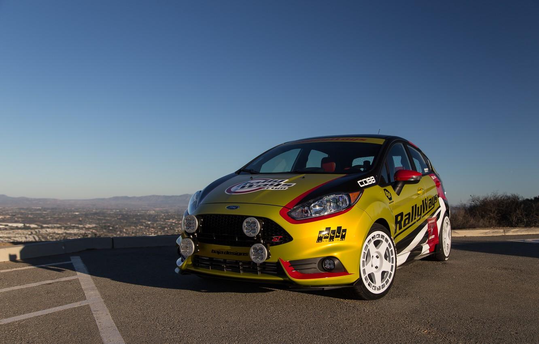 Photo wallpaper Ford, Fiesta, RallyWays