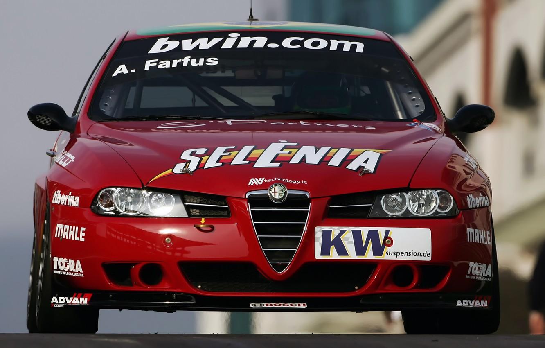 Photo wallpaper Alfa Romeo, Sport, Race Car, Track, Alfa 156, Super 2000, Alfa Romeo 156 Super 2000, …