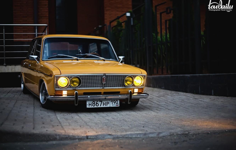 Photo wallpaper Lada, vaz, VAZ, lada, Lada, 2103, low classic