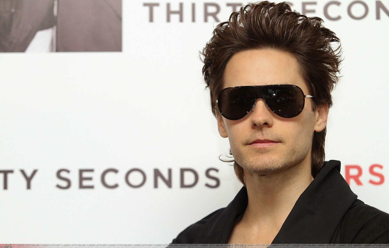 Photo wallpaper music, 30 seconds to mars, Jared Leto