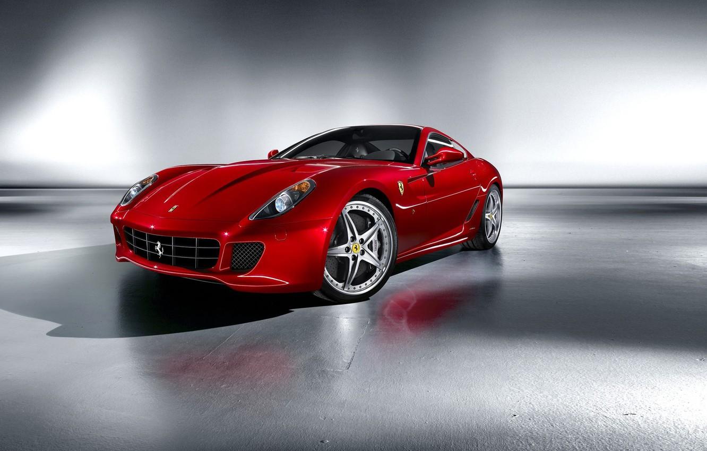 Photo wallpaper red, Ferrari, sports car, Fiorano