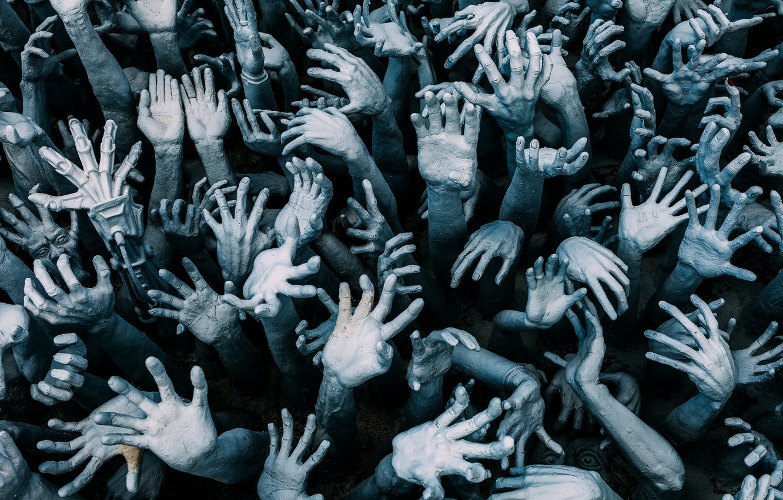 Photo wallpaper background, color, hands