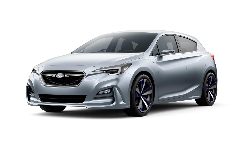 Photo wallpaper Concept, Subaru, Impreza, the concept, Subaru, Impreza