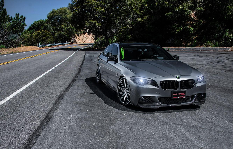 Photo wallpaper car, tuning, bmw m5, rechange