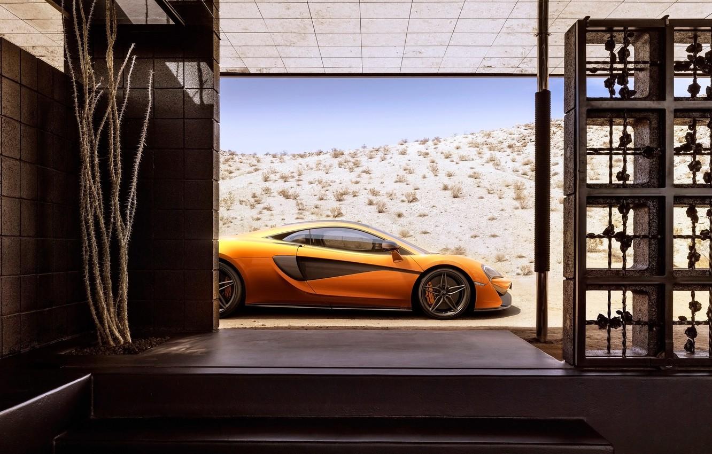 Photo wallpaper car, machine, auto, McLaren, 2015, 570S
