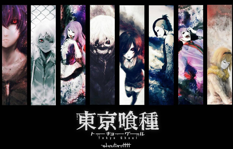 Photo wallpaper Tokyo ghoul, tokyo ghoul