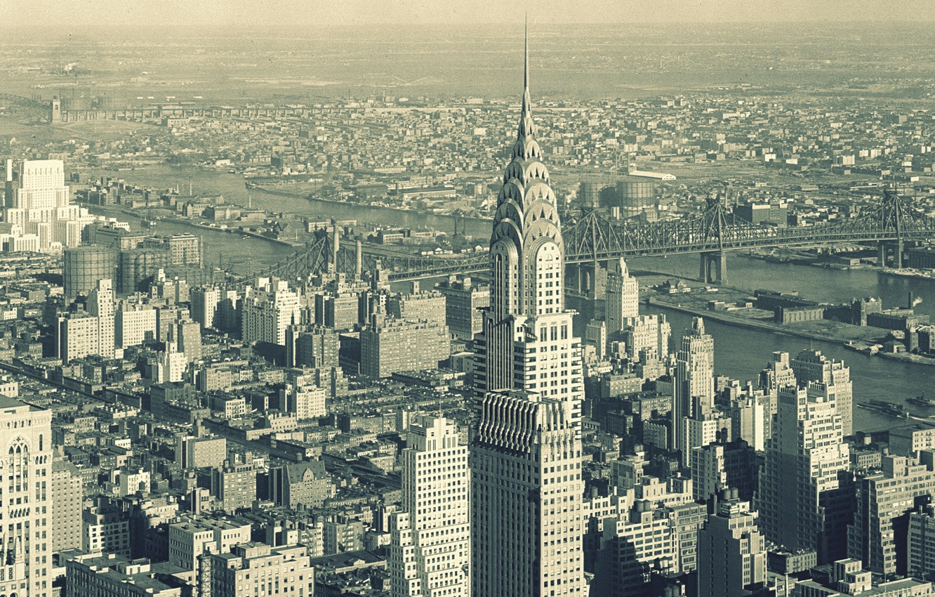 Photo wallpaper the sky, the city, building, skyscrapers, panorama, new York, new york, nyc, Chanin Building, Daily …