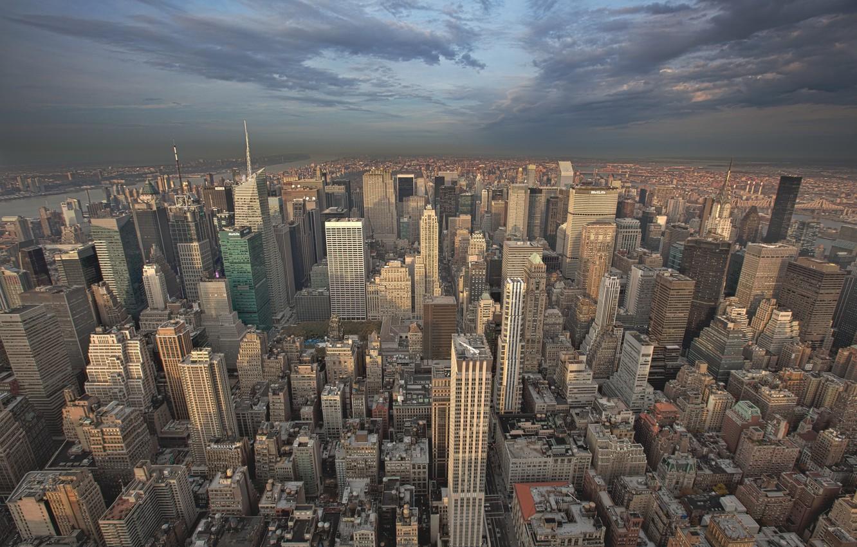 Photo wallpaper New York, skyscrapers, 5th Avenue