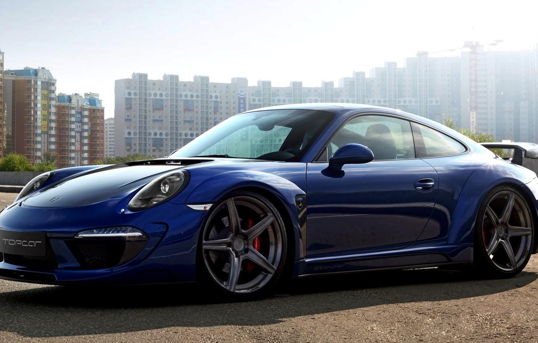 Photo wallpaper Machine, Tuning, Car, Porsche, Porsche 911, Carrera, New, Tuning, Ball Wed