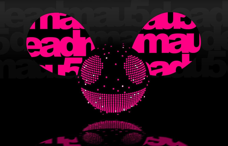 Photo wallpaper Music, Smile, Background, Logo, Electro House, Deadmau5, Mouse, Progressive House, Deadmaus, Ears