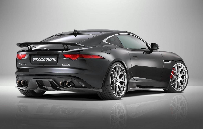 Photo wallpaper coupe, Jaguar, Jaguar, Coupe, 2015, F-Type R, Piecha Design