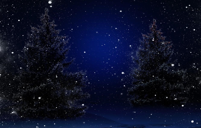 Photo wallpaper winter, snow, trees, nature, tree, New year, Nature, trees, winter, snow, Merry Christmas, Magic Christmas …