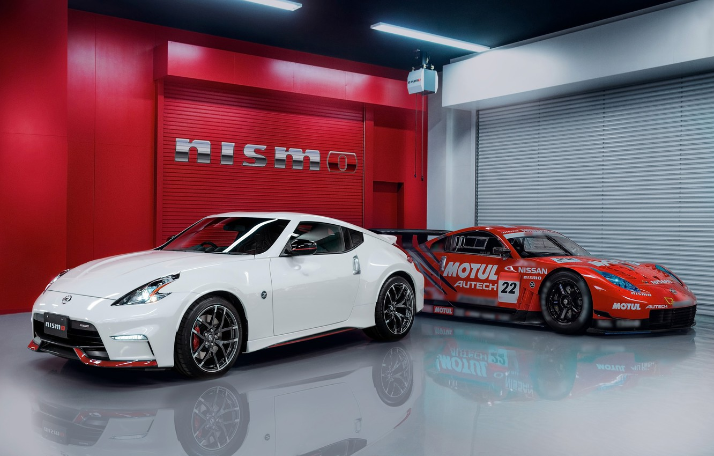 Photo wallpaper Nissan, Nissan, tuning, rechange, race car, 370Z, Nismo