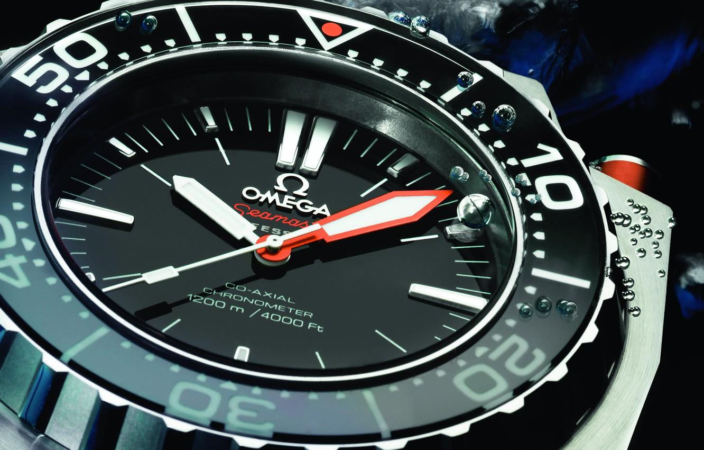 Photo wallpaper Watch, Omega, Seamaster, 1200M, Ploprof