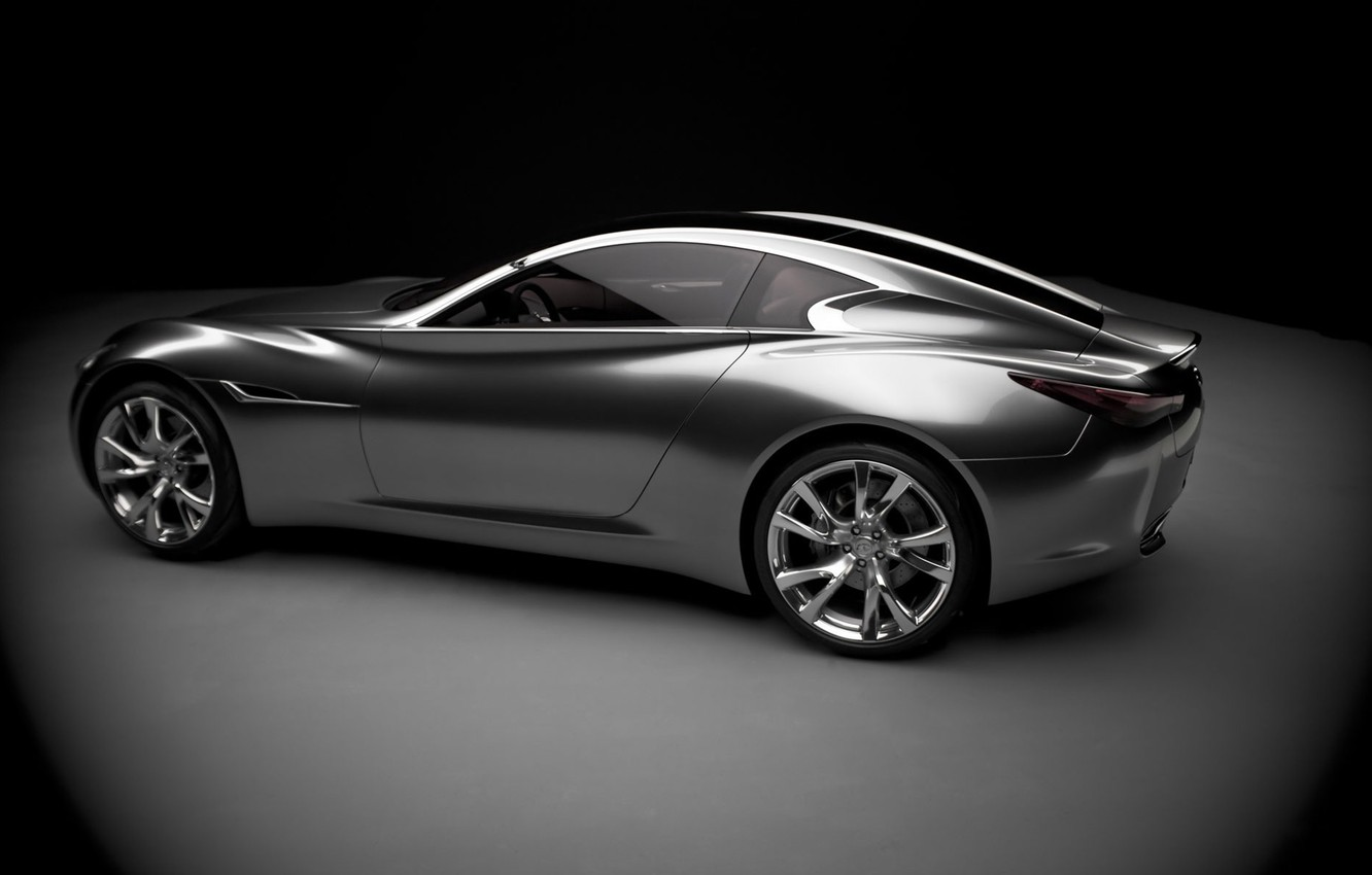 Photo wallpaper silver, the concept car, Infinity, essence