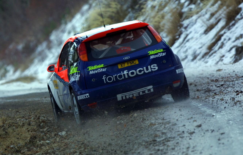 Photo wallpaper ford, rally, wrc, focus, 2002, Colin Mcrae